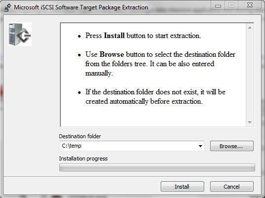extraindo os arquivos